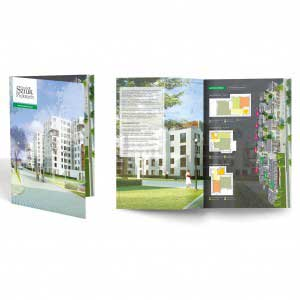 folder - osiedle sztuk pięknych