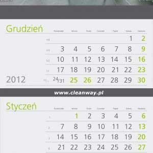 kalendarz - clean way