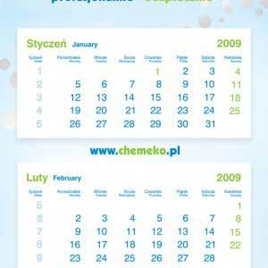 kalendarz - chemeko