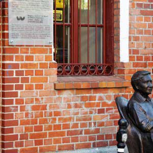 tablica - fundacja Elżbiety Zawackiej