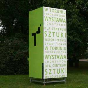 stand, ekspozytor - CSW Toruń