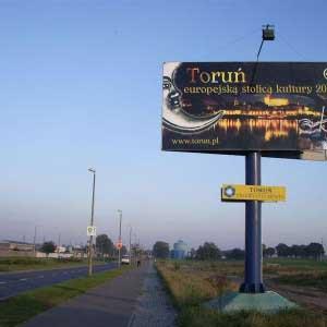 tablica, Toruń
